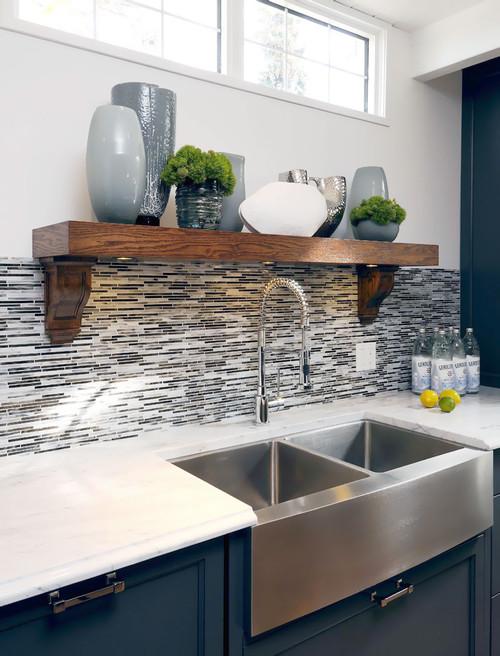 Cómo decorar la cocina con electrodomésticos de acero inoxidable ...