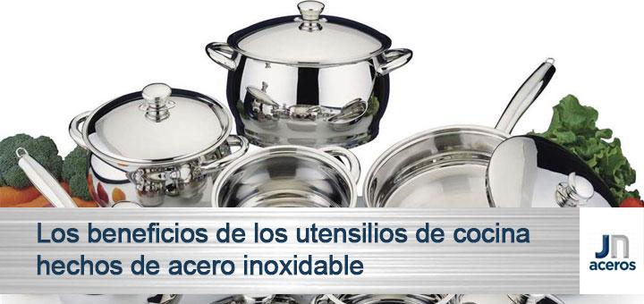 Beneficios de los utensilios de cocina hechos de acero inoxidable ...